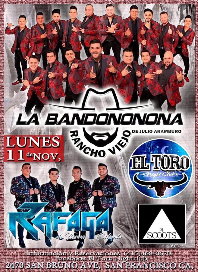 La Bandonona Rancho Viejo | Lunes 11 de Noviembre