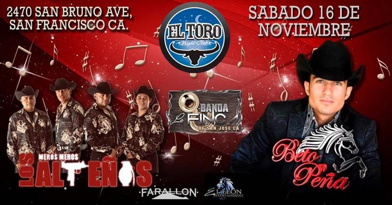 Beto Peńa con Banda | Sábado 16 de Noviembre