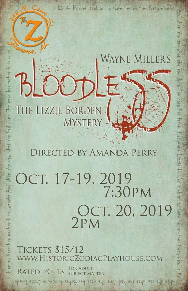 Bloodless: The Lizzie Borden Mystery