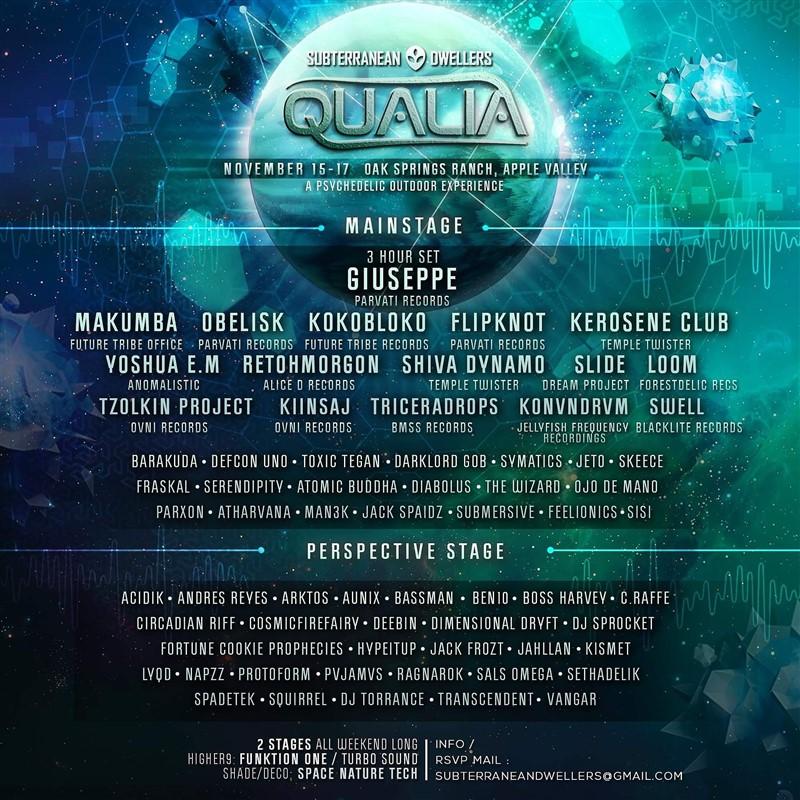 Qualia 2019 Outdoor Music Festival