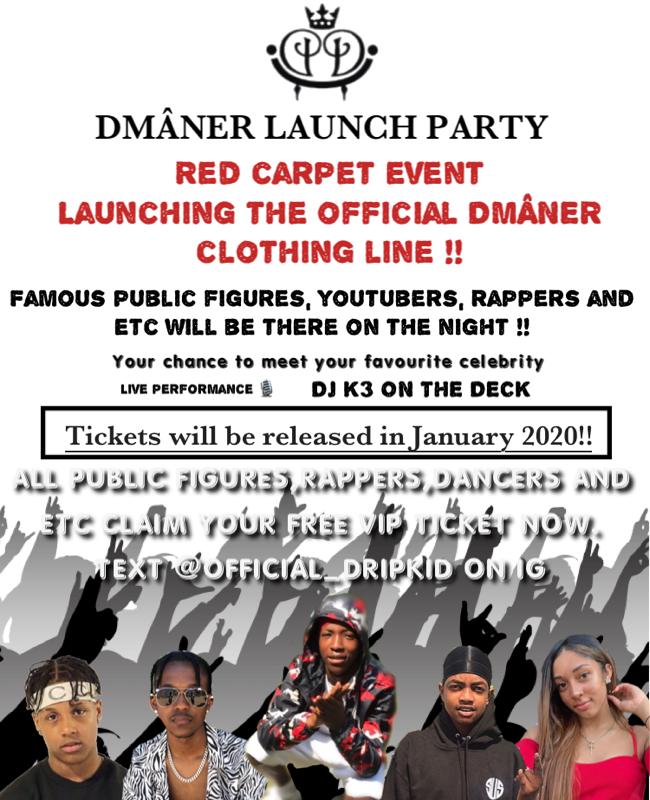 DMÂNER LAUNCH PARTY