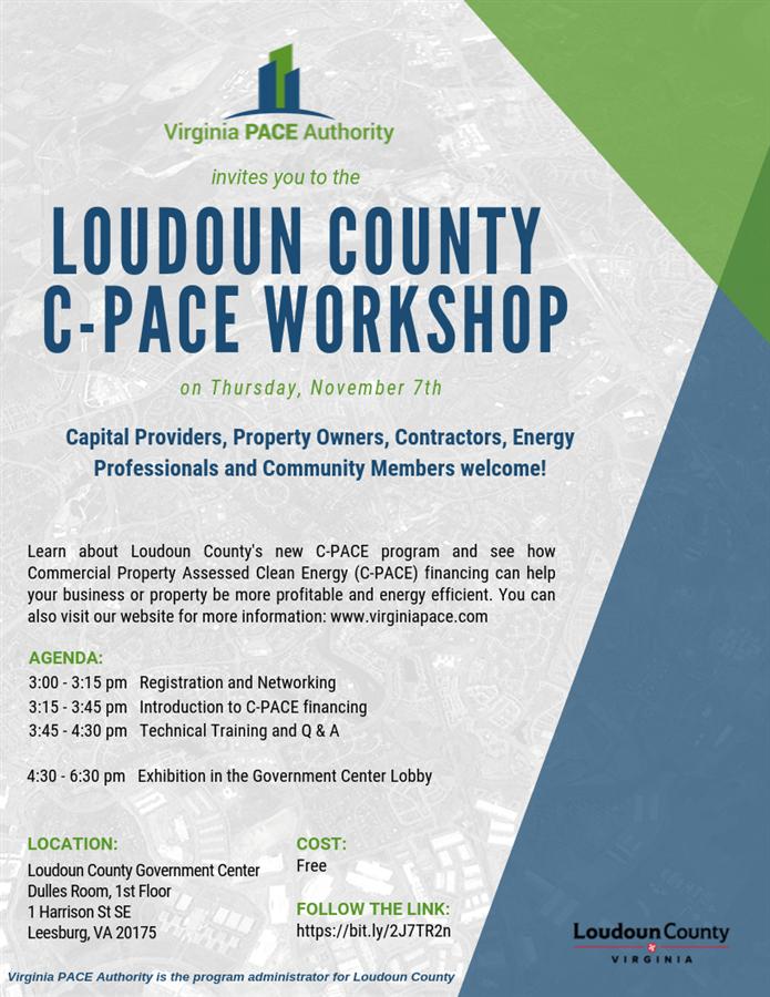Loudoun County C-Pace Event