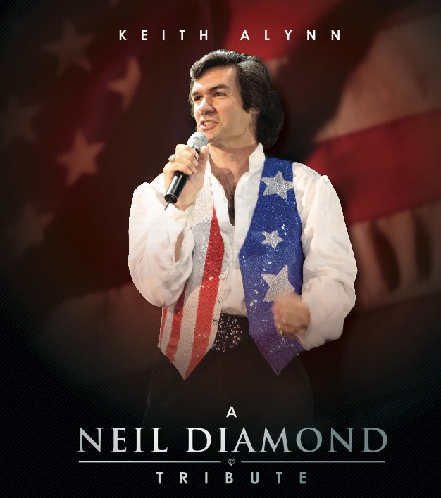 Get Information and buy tickets to A Neil Diamond Tribute A Neil Diamond Tribute on God and Country Theaters