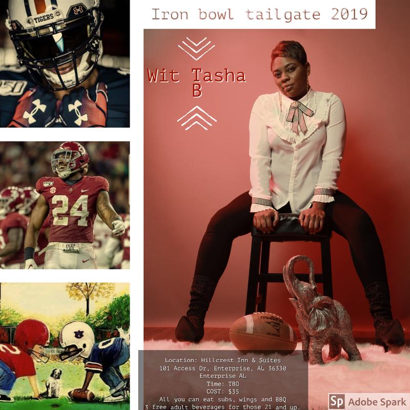 Iron bowl Tailgate 2019