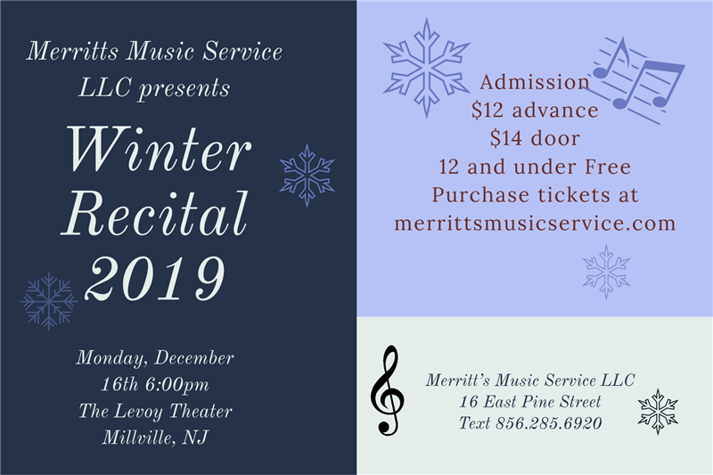 Winter Recital 2019