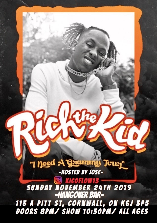 Rich The Kid-I need a grammy tour