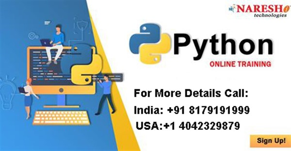 Python Online Training In USA | Python Online Course In USA