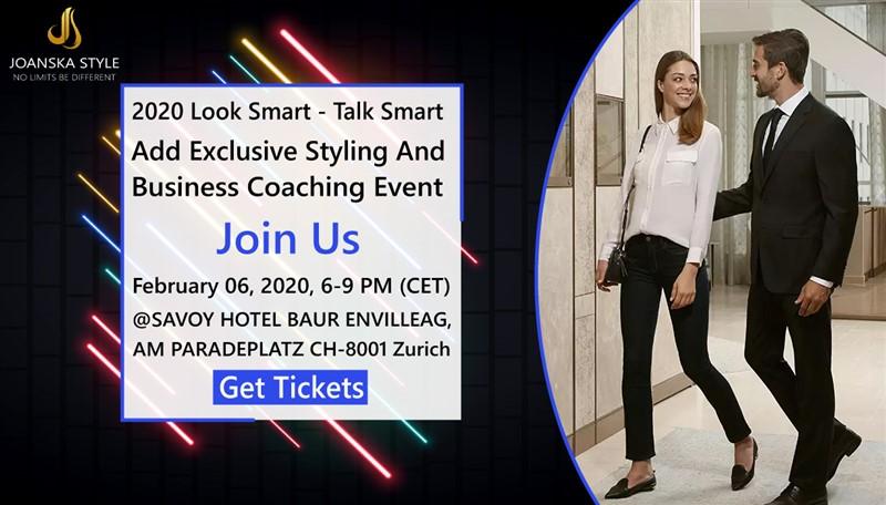2020 Look Smart Talk Smart