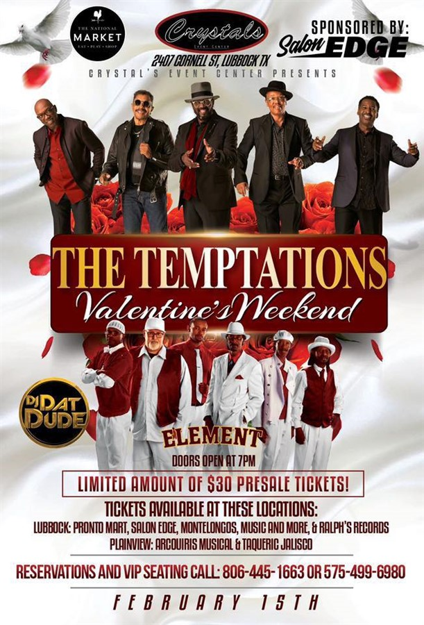 Dennis Edward's Temptation Revue