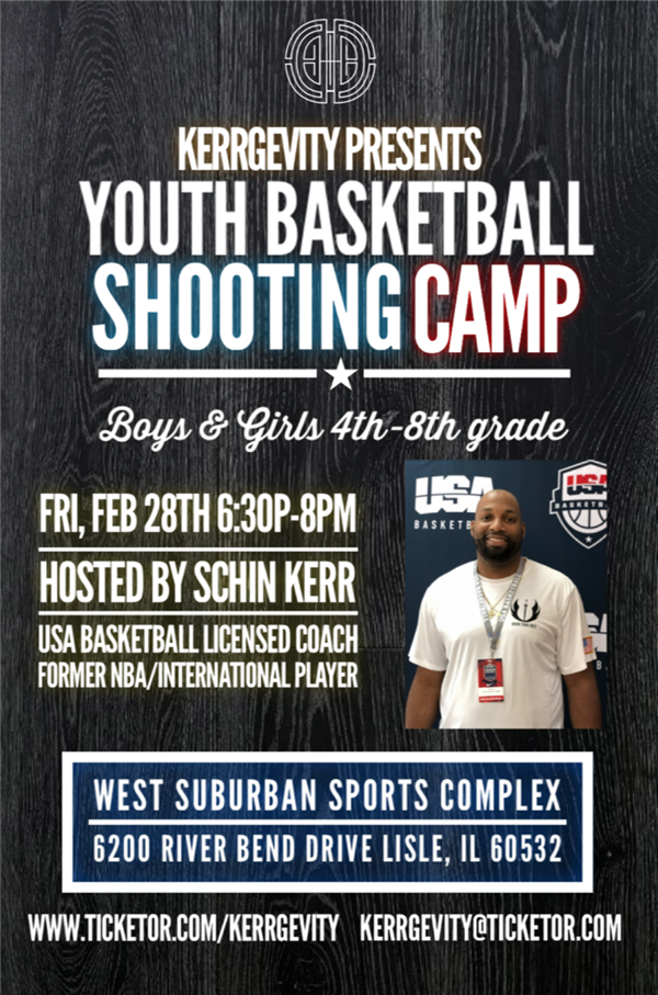 Kerrgevity Youth Basketball Shooting Camp