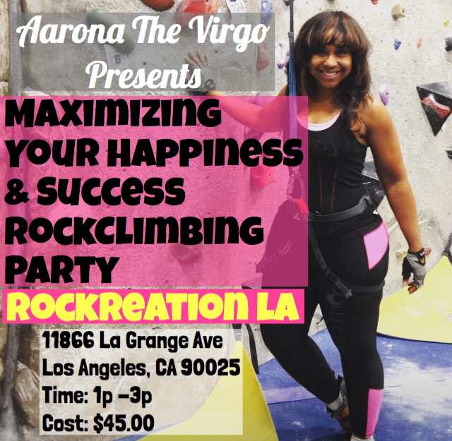 Maximizing Your Happiness And Success RockClimbing Party (Archived)