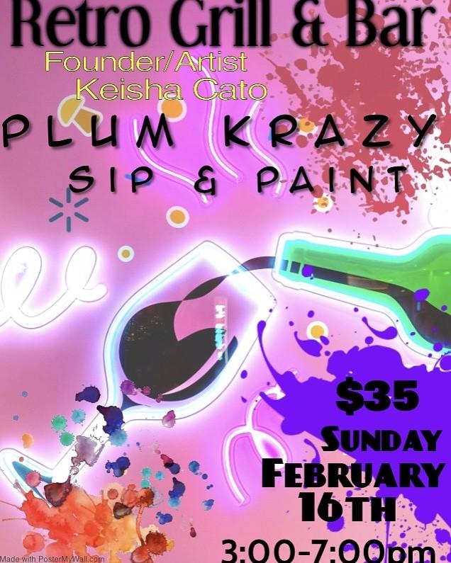 Plum Krazy Paint Party