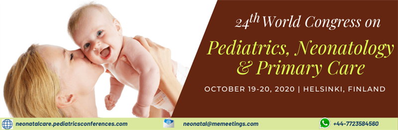 24th World Congress on Pediatrics, Neonatology & Primary Car