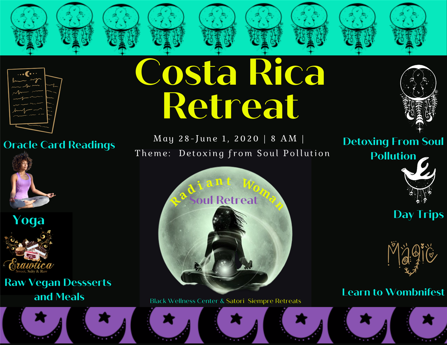 Radiant Woman Soul Retreat Healing Retreat In Costa Rica on May 28, 20:00@Radiant Woman Soul Retreat - Buy tickets and Get information on Black Wellness Center