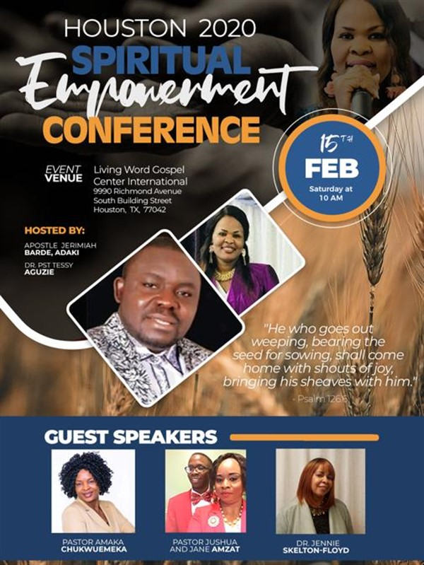 Spiritual Empowerment Conference