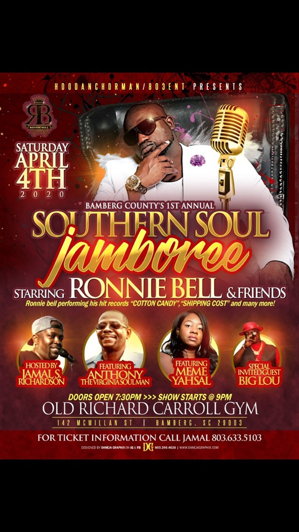 Bamberg County's 1st Annual Southern Soul Jamboree