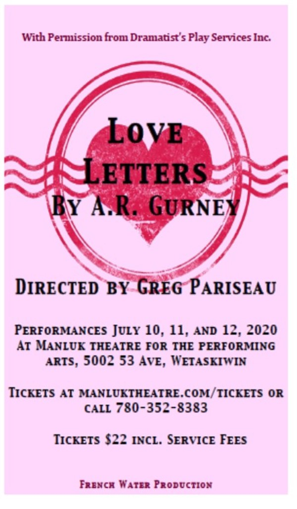 Get Information and buy tickets to Love Letters  on Frenchwater Productions