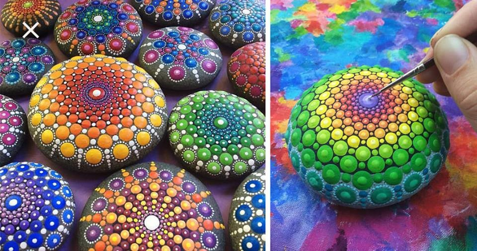 Mystical Mandala Stones Workshop Relaxation & Art Come Together on a Stone on Apr 06, 00:00@Dazed and Reused Artworks - Buy tickets and Get information on Dazed & Reused Artworks