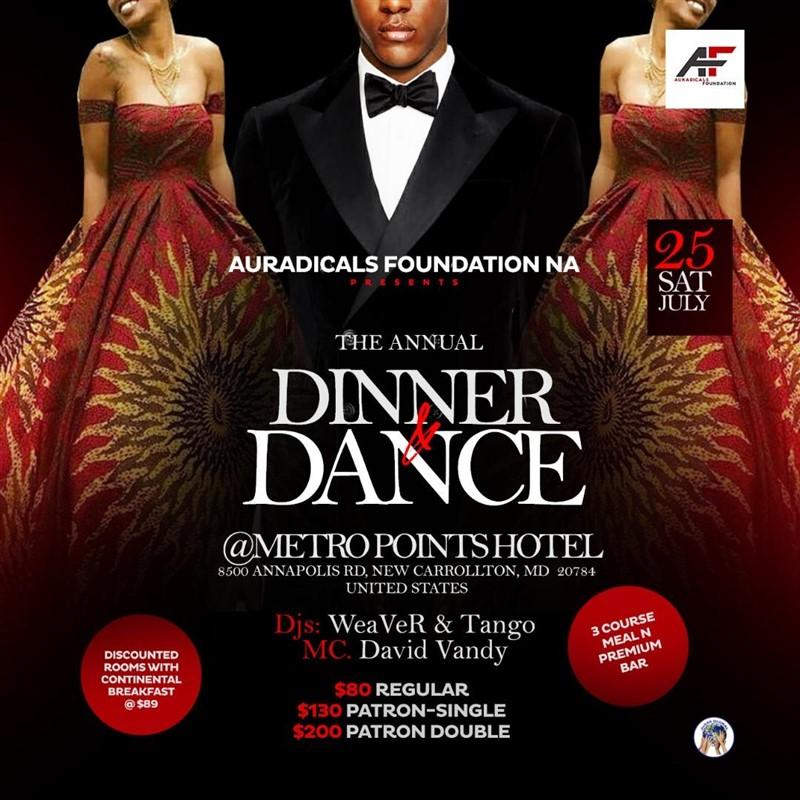 Auradicals Dinner & Dance Party