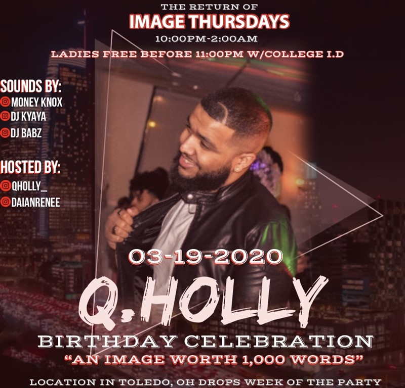 "Image Thursdays ""Q.Holly Birthday Party"""