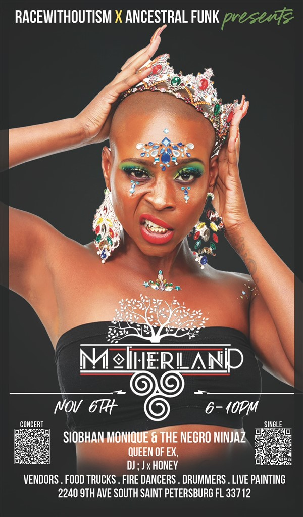 Get Information and buy tickets to Motherland Festival: A Music and Arts Celebration of Unified Diversity on ancestralfunk.com