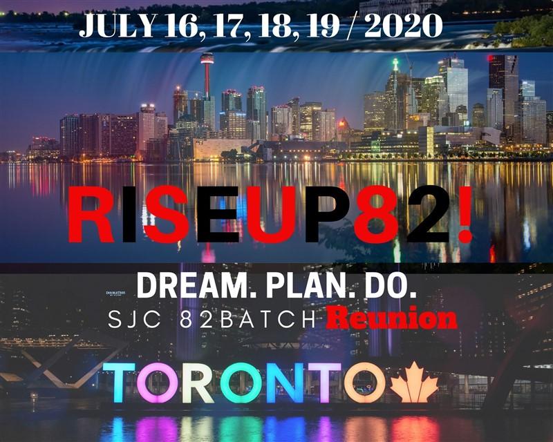 RISEUP82 - Platinum (Full Package) $200CAD/person