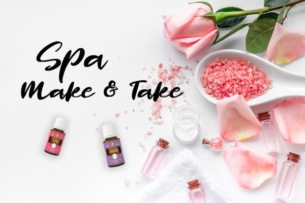 Make & Take Spa Night