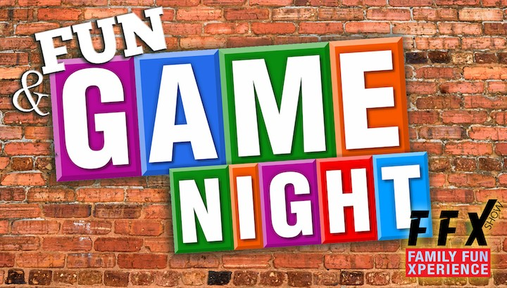 Fun & Game Night Fun and safe for the whole family on Dec 01, 00:00@FFX Theater - Pick a seat, Buy tickets and Get information on Family Fun Xperience ffx