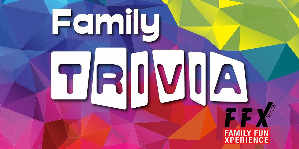 Family Trivia! Compete with other families! Disney, Superheroes, Star Wars, Music and More! on Sep 07, 00:00@FFX Theater - Buy tickets and Get information on Family Fun Xperience