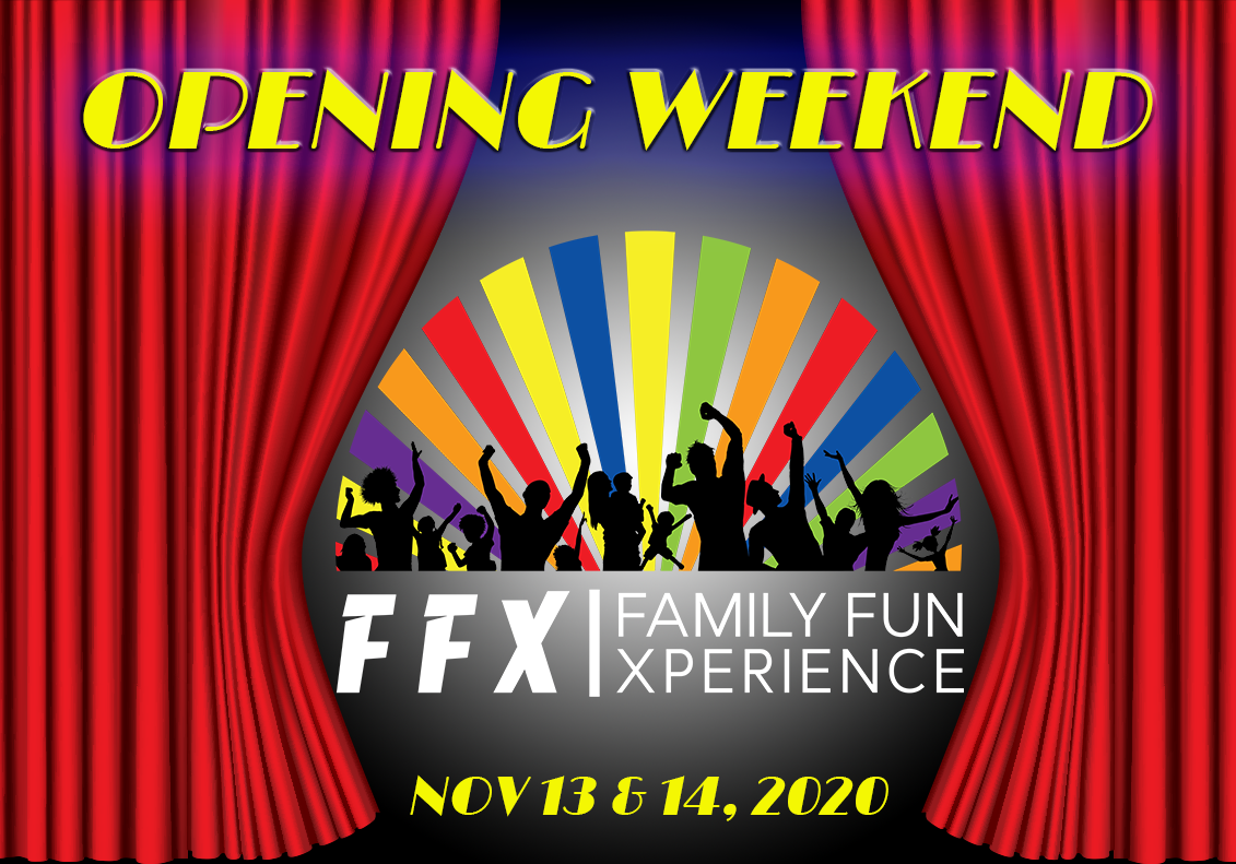 Family Fun Xperience Grand Opening! on Dec 09, 00:00@FFX Theater - Pick a seat, Buy tickets and Get information on Family Fun Xperience ffx
