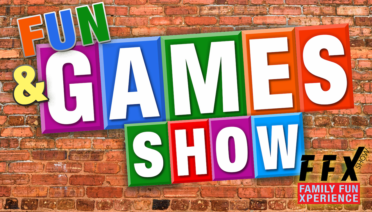 FUN & GAMES SHOW! Interactive live audience xperience! on Sep 25, 20:00@FFX Theatre - Buy tickets and Get information on Family Fun Xperience tickets.ffxshow.org