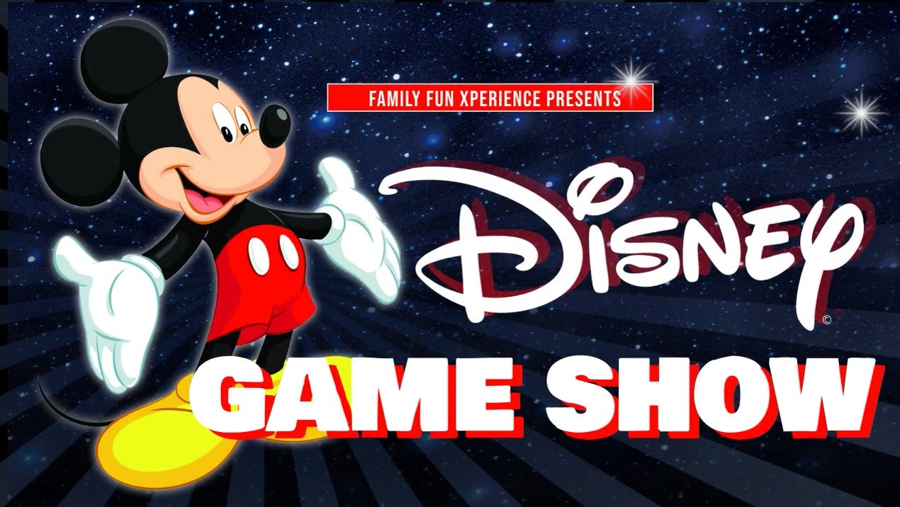 DISNEY AND MORE GAMESHOW Live, interactive game show! on Oct 18, 19:00@FFX Theatre - Buy tickets and Get information on Family Fun Xperience tickets.ffxshow.org