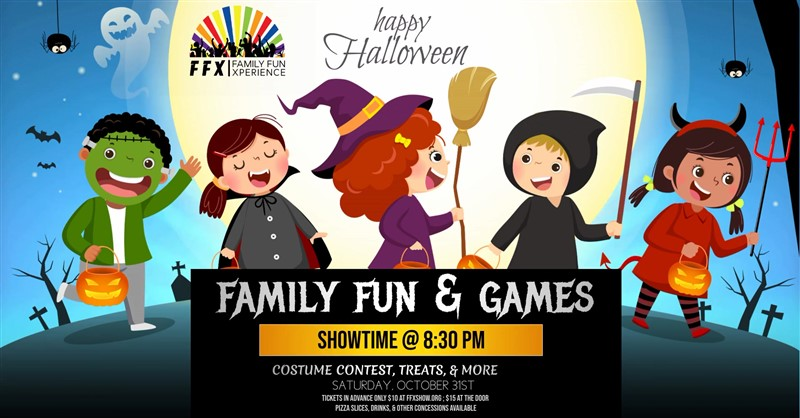 Get Information and buy tickets to Fun & Game Night - Halloween Edition! Fun and safe for the whole family on Family Fun Xperience