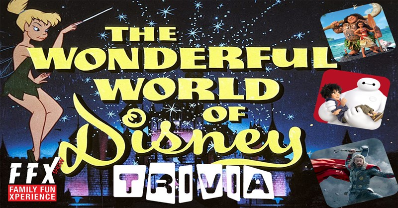 Get Information and buy tickets to DISNEY TRIVIA Disney and Much More! on Family Fun Xperience