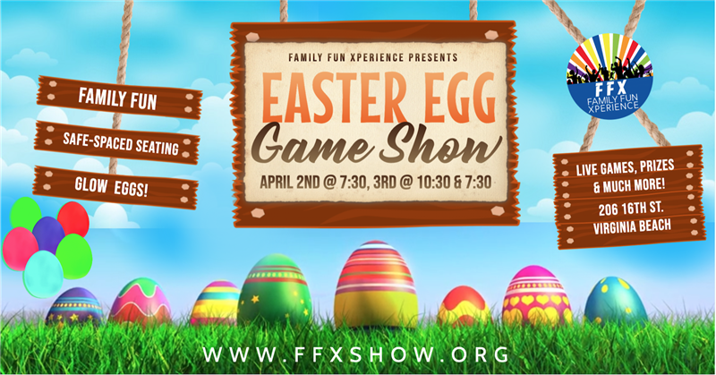 Get Information and buy tickets to Easter Egg Game Show Family-friendly Fun Event! on Family Fun Xperience