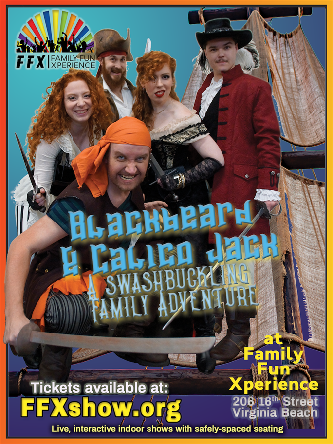 Get Information and buy tickets to BLACKBEARD & CALICO JACK A Swashbuckling Family Pirate Adventure on LEFTFIELDPRODUCTIONS