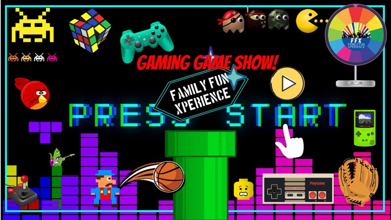 Get Information and buy tickets to The Gaming Game Show Live, interactive game show! on Family Fun Xperience