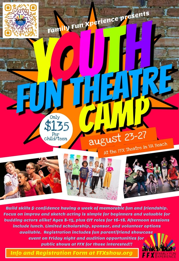 Get Information and buy tickets to Theatre Camp 2021 Youth on LEFTFIELDPRODUCTIONS