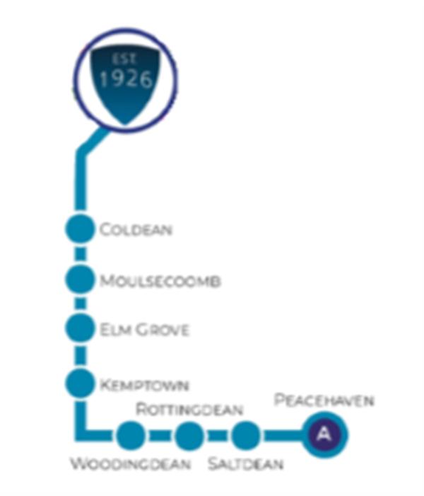 Route A-Peacehaven