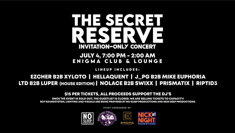 The Secret Reserve