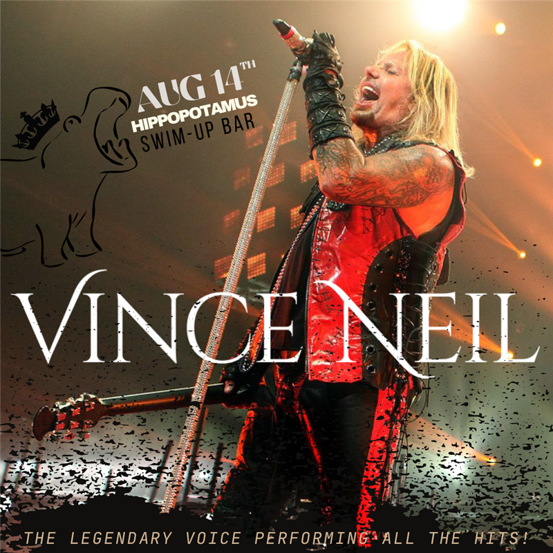 Get Information and buy tickets to VINCE NEIL of MOTLEY CRUE  on theregaliahotel.com