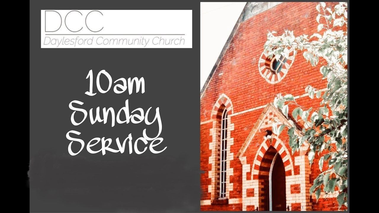 Sunday Service  on Oct 24, 10:00@DCC - Buy tickets and Get information on Daylesford Community Church