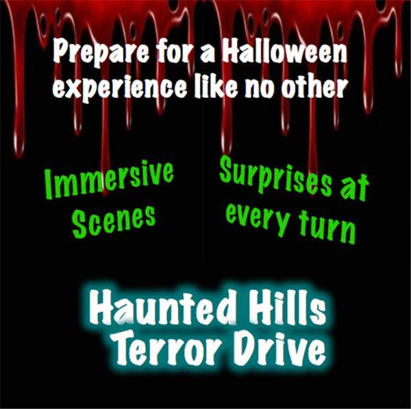 Get Information and buy tickets to Haunted Hills Terror Drive Friday, Oct 2, 2020 on Haunted Hills Terror Drive