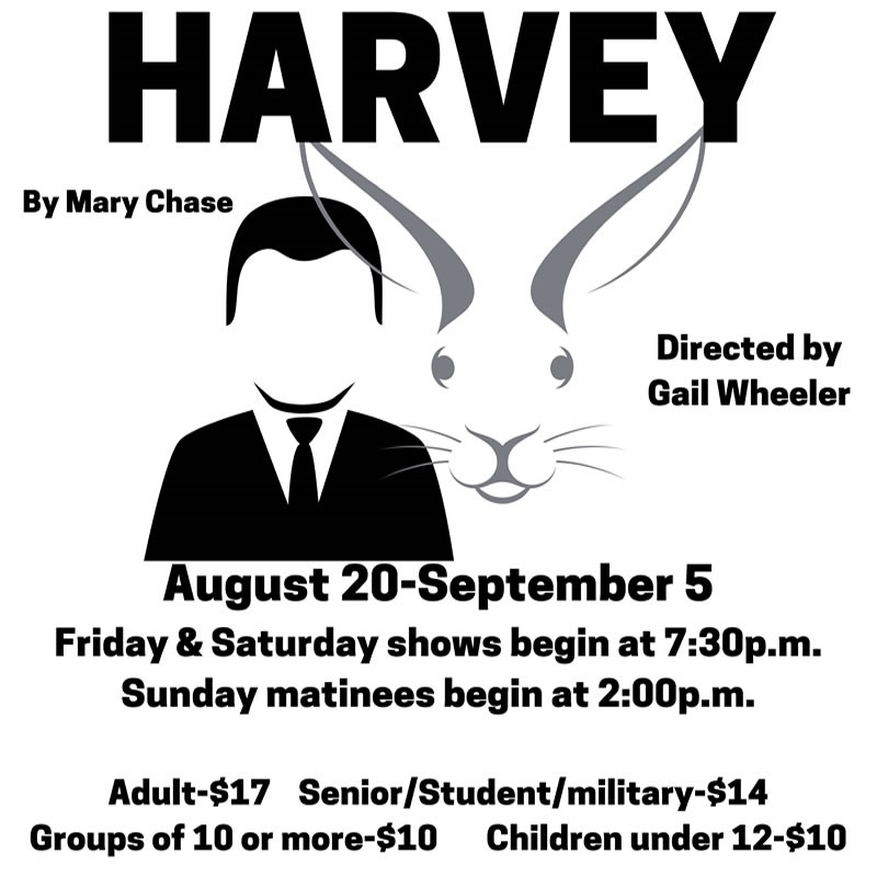 Harvey  on Sep 08, 00:00@LCCT - Pick a seat, Buy tickets and Get information on Las Cruces Community Theatre lcct