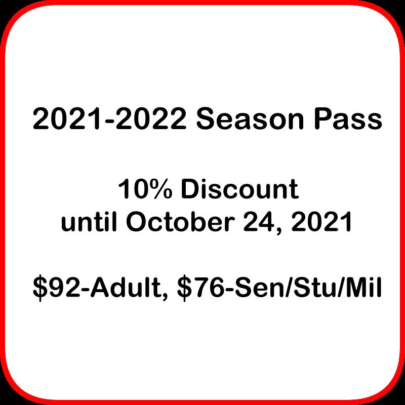 2021-2022 Season Pass