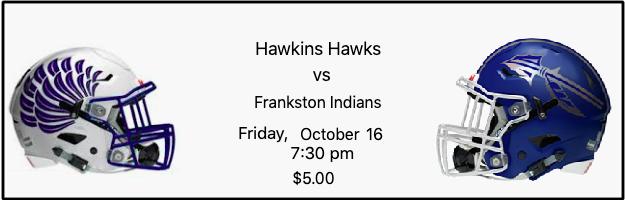 Hawkins Hawks vs Frankston Indians image