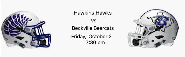 Hawkins Hawks vs Beckville Bearcats