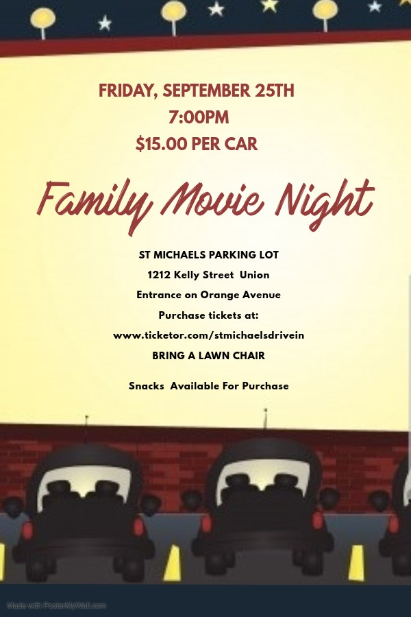 St Michaels Drive In Movie