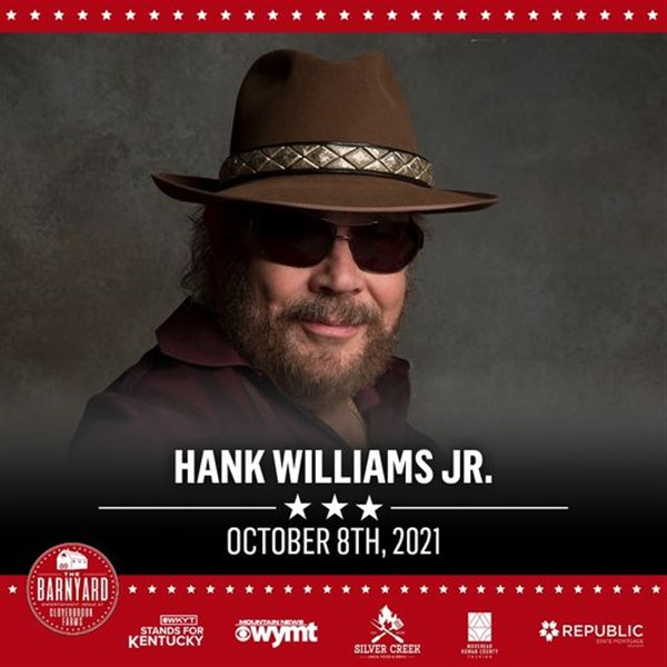 Get Information and buy tickets to Hank Williams JR  on The Barnyard