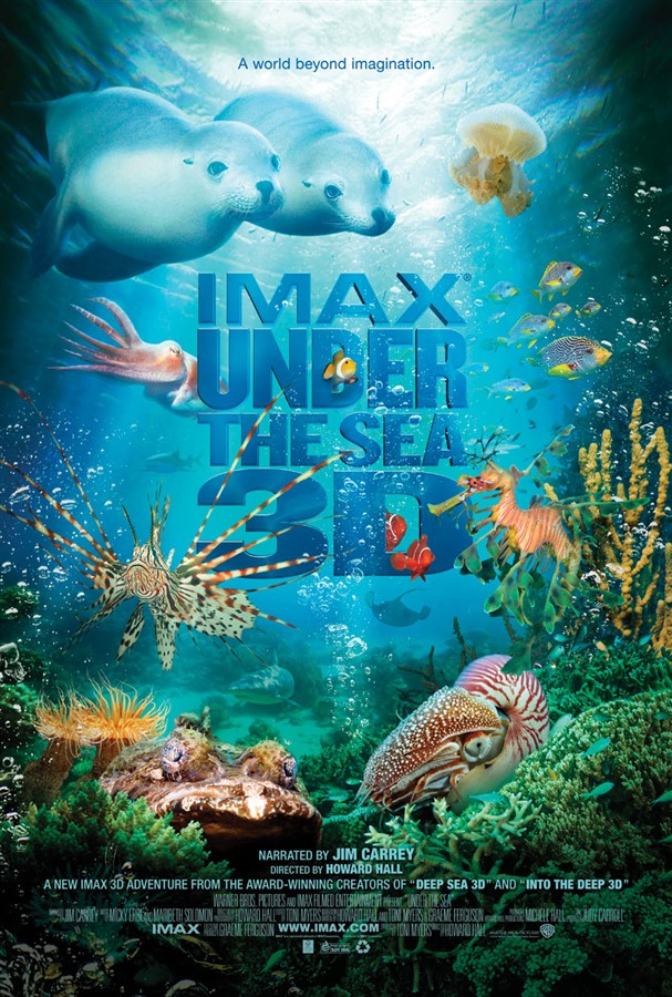 Get Information and buy tickets to IMAX - Under the Sea 3D Documentary on worldgolfimax.com